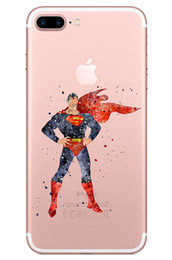 Super heroeS iphone caSe online shopping - Transparent Soft Tpu Case for Iphone X plus Samsung Galaxy S7 edge s8 Note The Avengers Super Hero Movie Marvel Phone Cases Skin
