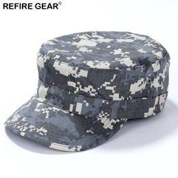 China ReFire Gear Outdoor Camouflage Camping Cap Men Conceal Hunting Camping Hat Man New Fishing Camo Hiking Cap cheap camouflage camping gear suppliers