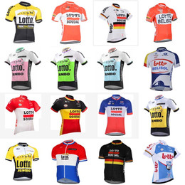 76b245503 LOTTO team Cycling Short Sleeves jersey Cycling Jerseys Promotion Item Good  quality