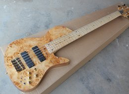 $enCountryForm.capitalKeyWord NZ - 2018 Factory Wholesale 5-string Neck-Thru-Body Electric Bass Guitar with Maple Fingerboard,Gold Hardwares,Good Quality