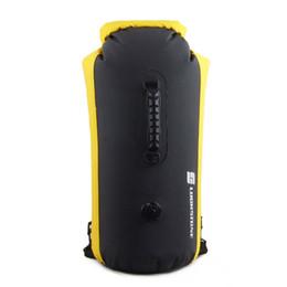 cafb1a43e6ee 60L PVC Waterproof Dry Bag Swimming Drifting Inflatable Backpack Kayak  Rafting Camping Hiking Rucksack