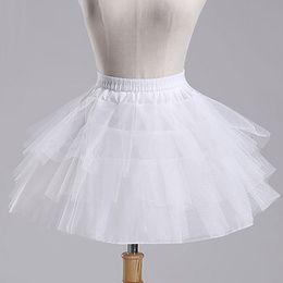 $enCountryForm.capitalKeyWord Australia - Cheap White A-Line Short Crinoline Petticoat,flower Girl dress Petticoat,Bustle Skirt,Boneless Bustle,underskirt Wedding Short Petticoat