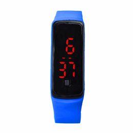 $enCountryForm.capitalKeyWord UK - OTOKY Fashion Ultra Thin Girl Men Sports Silicone Digital LED Sports Wrist Watch Children Kids Special Gift BY30