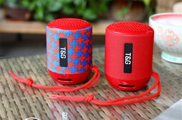 new bluetooth mini speaker 2019 - 2018 New Bluetooth Speaker Wireless Bass Call Outdoor Portable Card Fashion Mini Audio Speakers & Subwoofers Support Who