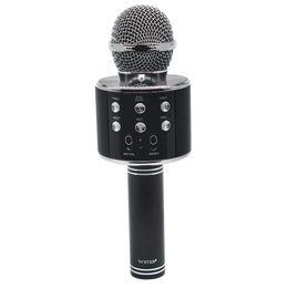 Chinese  Wireless Karaoke WS858 Bluetooth Mini Home KTV Microphone Portable Player MIC Speaker Record Music Speaker Player Smart PHONE PC manufacturers
