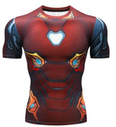 quick dry shirts for men UK - Avengers 3 Winter Soldier 3D Printed T Shirts Men Compression Shirt 2019 Cosplay Costume Short Sleeve Crossfit Tops for Male S -XXXXXXL U264