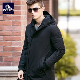 famous brand parka 2019 - 2018 new Famous Brand winter jacket men patchwork warm black duck down jacket coat hooded windproof outwear high quality