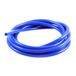 6mm Full Silicone Car Fuel Air Vacuum Hose Line Pipe Tube 1 Meter 3.3ft Blue New on Sale