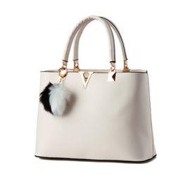 Cheap designer satChel handbags online shopping - real PU ladies handbag famous designer brand handbag Letter V luxury cross body bags cheap women bags canta bolsos