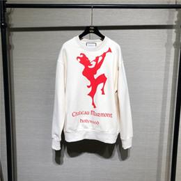 a8f3caea3a8 Париж g письмо толстовки chateau marmont с капюшоном люксовый бренд  пуловеры мода леди уличная повседневная толстовки открытый кофты женщины  пальто