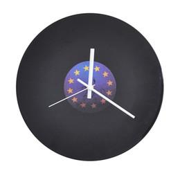 Antique Wall Light Europe UK - Retro Creative Personalized Modern Wall Clocks Acrylic Quartz Wall Clock Home Living Room Decoration Duvar Saati Silent 50A0821