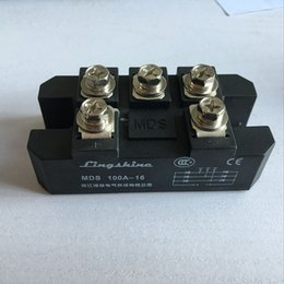 1pieces MDS100A 3-Phase Diode Bridge Rectifier 100A Amp 1600V Bridge Rectifier on Sale