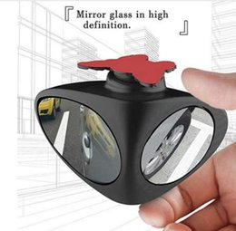Discount blind spot mirrors - 360 Degree Adjustable No Blind Spot Rear Side Mirror with Wide Angle for Vehicle Car SUV