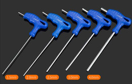 $enCountryForm.capitalKeyWord Canada - Free Shipping 5PCS SET Walking-stick T-type Hex Wrench Set T Handle Flat End Allen Hex Key Wrench Spanner Hand Tool