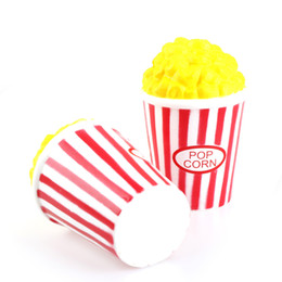 Top children Toys online shopping - Cute Popcorn Squishy Jumbo For Child Adult Attention Toys Soft Slow Rising Squeeze Squishies Top Quality hz BR