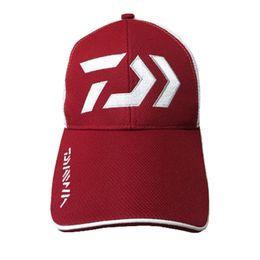 5e278a93fddf3 Summer Man Women Adjustable Fishing Hat Daiwa Japanese Japan Sunshade Sport  Baseball Fishermen Hat Cap Black Special Bucket Hat