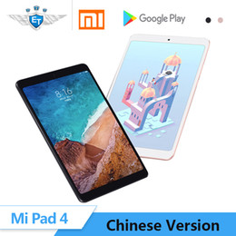 "mipad tablet NZ - Original Xiaomi Mi Pad 4 mipad 4 Tablets 8"" Snapdragon 660 AIE Core Wifi LTE AI Face Tablet PC Tablet Android mi pad Tablets"