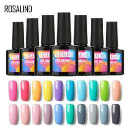 $enCountryForm.capitalKeyWord UK - ROSALIND Gel 1 P+Black Bottle 10ML Pure Color 58 Colors 01-30 Gel Nail Polish Nail Art UV LED glitter DIY Painting Gel Lacquer