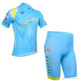 67b8152df ASTANA team Cycling Short Sleeves jersey (bib) shorts sets newest Summer Bicycle  Breathable Racing Clothing Quick-Dry Race MTB Bike C1507
