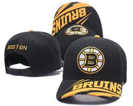 Men s Boston Bruins Snapback Hats Logo Golf Brim Embroidery Sports  Adjustable Ice Hockey Zephyr Caps Flat Visor Baseball Hats 7cbc4666d2b7
