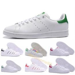 Vente en gros Top qualité femmes hommes nouvelles chaussures stan mode chaussures de sport smith chaussures de sport en cuir classiques appartements classiques