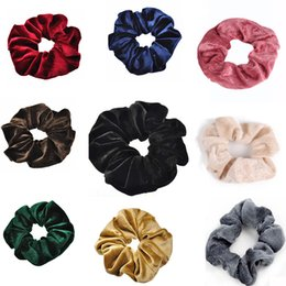 M Mism New Snake Womens Velvet Solid Elastic Hair Bands Hair Accessories Ponytail Holder Scrunchies Hair Rubber Band Headband With A Long Standing Reputation Women's Hair Accessories