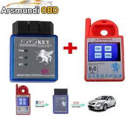 Gm 46 Chip NZ - Best Bluetooth Mini CN900 Transponder Key Programmer Plus TOYO Key OBD II Key Pro for 4C 46 4D 48 G H Chips Funtion For All Lost