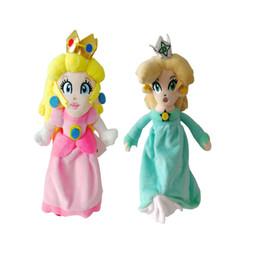 "Mario Rosalina Plush Toys UK - Hot Sale 2 Style 8"" 20cm Super Mario Bros Princess Daisy Rosalina Plush Doll Toys For Child Best Gifts Wholesale"