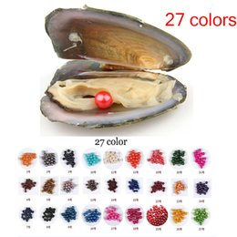 $enCountryForm.capitalKeyWord Australia - 2018 New DIY 6-7mm Natural Pearl Oyster With Loose Round Pearls For DIY Jewelry Making Vacuum Packaging Trend Gift Surprise Shell