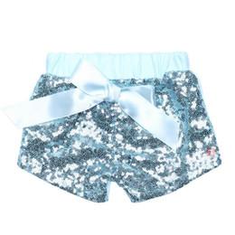 $enCountryForm.capitalKeyWord NZ - Baby Girls Sequins Shorts Pants Casual Pants Fashion Infant Glitter Bling Dance Boutique Bow Princess Shorts Kids Clothes 14 color