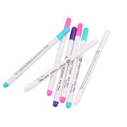 cross pens pencils 2019 - 4pcs Stitch Markers Cross Stitch Water Erasable Pen Sewing Grommet Ink Fabric Patchwork Marker Marking Pen DIY Needlewor