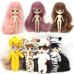 Toys & Hobbies 126 Doll Limited Gift Special Price Cheap Offer Toy To Enjoy High Reputation At Home And Abroad Free Shipping Top Discount 4 Colors Big Eyes Diy Nude Blyth Doll Item No