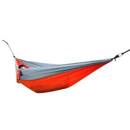 China Double Person Hammock Portable Outdoor Nylon Parachute Fabric Garden Camping Sports Garden Hang Bed For Enjoin Life supplier portable beds for camping suppliers