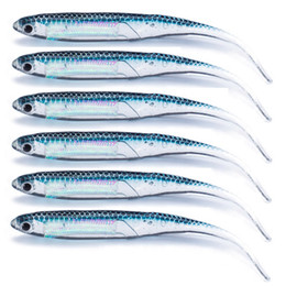 artificial baits for fishing Australia - Baits SEALURER 18-30pcs lot Artificial Soft Lure 2.6g 9cm Straight tail for Fishing Shad Worm hollow fishing lure Jig Head Fly Fishing