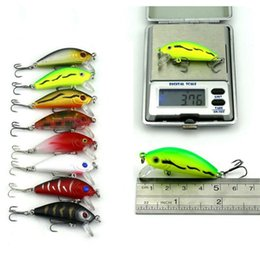 Hard Bait Minnow Crankbait Canada - hard bait New Arrival Outdoor Mixed Fishing Lure Set Hard Bait Artificial Lure Kit Wobblers Minnow Crankbait Fishing Tools 43 Pcs Lot