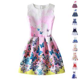 $enCountryForm.capitalKeyWord UK - Summer Girl Dress Flower Kids Dresses For Girls Party Princess Girl Clothes for age 6 7 8 10 12 Year Dress vestido infantil