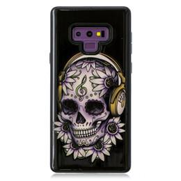 butterfly hard case 2019 - Hybrid Shockproof Cases For Huawei Mate 20 Lite Y6 2018 Galaxy Note 9 J4 J6 A6 Dreamcatcher Skull Flower Butterfly Unico
