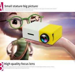Laptop Hdmi Input Australia - Mini Projector YG300 Portable LED Projector Support PC Laptop USB SD AV HDMI Input for Movie Game Home Theater Video Projector Best Gift