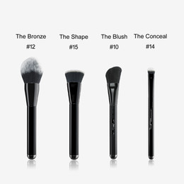 Hair angles online shopping - MJ Bronze Bronzer Brush Angled Blush The Conceal Shape Contour BOX PACKAGE Powder Concealer Foundation Beauty Makeup Brushes