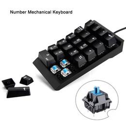 $enCountryForm.capitalKeyWord NZ - USB Mini Mechanical Numeric Keyboard Keypad For MacBook Air Numeric Keypad Digtal Keyboard For Laptop Notebook Desktop PC
