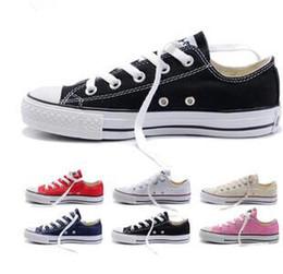 Venta al por mayor de 2017 New star big Size 35-45 Zapatos casuales Low top stars Zapato de lona clásico Zapatos de lona para hombres / mujeres