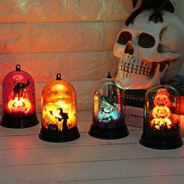 $enCountryForm.capitalKeyWord NZ - Creative Pumpkin Light Fashion Halloween Decoration Desktop Battery Powered Witch Lamp Ornaments Gift For Kids New