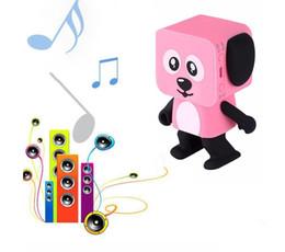 $enCountryForm.capitalKeyWord Australia - Portable Robot Dog Bluetooth V4.1 Speaker Mini Wireless Handsfree Stereo Dancing Robot Speaker for Kids Cute Children Toy