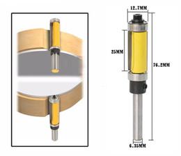 """Flush Cutters Australia - Pattern Flush Trim Router Bit, 2-1 2"""" Cutter Top & Bottom Bearing"""
