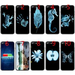 $enCountryForm.capitalKeyWord NZ - Fringe Symbols TV Show Soft Black TPU Phone Case for iPhone XS Max XR 6 6s 7 8 Plus 5 5s SE Cover