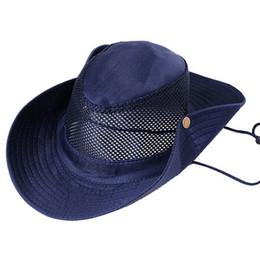 b87f6a8ea70 Men Women s Outdoor Wide Brim Sun Hat Side Snap Chin Cord Fishing Hiking Cap  Camouflage Summer fishing Jungle Hunting Hats