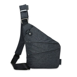 d21b3b9bed Discount small male shoulder bags - 2018 New Casual Men s Chest Bag Casual  Crossbody Bag Multifunctional