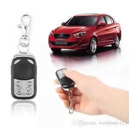 Wireless Door Key Australia - Universal Wireless 433mhz Auto Remote Control Electric Cloning Gate Garage Door Remote Control Fob Key Keychain Remote Control
