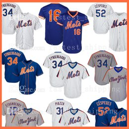 94600190e 2018 New York men s 34 Noah Syndergaard 52 Yoenis Cespedes 16 Dwight Gooden  17 Keith Hernandez 18 Darryl Strawberry Baseball Jerseys