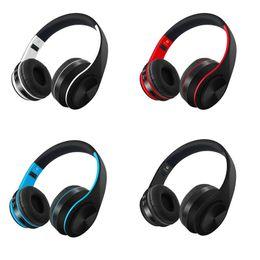 Wireless Usb Music Headphones Australia - Folding Headband 4.1 Version Bluetooth headset D4 Heavy Bass Sports Music Earbuds Mic Handsfree Wireless Headphone